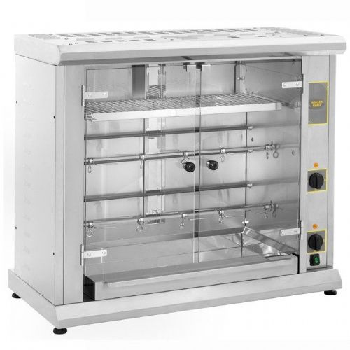 Roller Grill RBE80Q Two Spit Electric Rotisserie Rotisseries